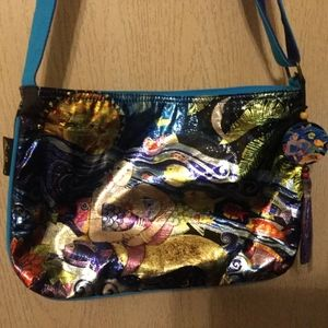 Laurel Burch mermaid Bag